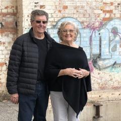 Trevor and Judith St Baker