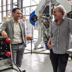 Dr Mehdi Serati and Prof David Williams