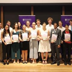 2019 EAIT Scholarship recipients