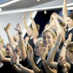 Students from St Margaret's Anglican Girls School
