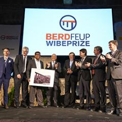 members of the winning team at WIBE2019